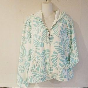 NWT -Ladies Tommy Bahama Hoodie Jacket - sz XL